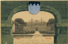 Ansichtskarte Zeist het Slot Schloß Wappen 1902