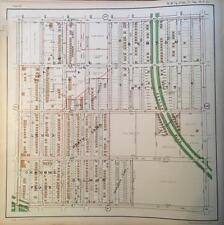 1925 KANSAS CITY MISSOURI BENTON HEIGHTS PROSPECT TO INDIANA AVENUE ATLAS MAP