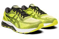 Asics Gel Nimbus 21 Men's Running Shoes Yellow New Sneakers 2019 -1011A169-750