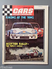 R&L Mag Cars & Car Conversions Aug 1975: Saab V4 Rally/Dell Miglia Mini/Escort 1
