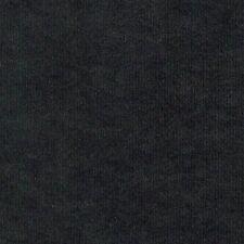 Microfaser Meterware 1lfm 1,48m breit Polsterstoff Velours weich Schwarz