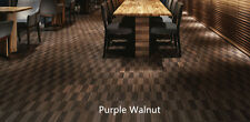 Approved for Heated Floors! All Natural Solid Hardwood flooring *Purple Walnut*