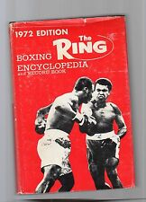 the ring - boxing encyclopedia and record book - 1972 edition -