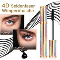 4D Wasserdicht Seidenfaser Wimperntusche