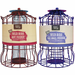 Squirrel guard NUT & / or FAT BALL feeder Combination discounted deals