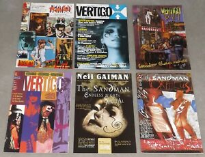 SANDMAN SPECIALS ONE-SHOTS VF/NM 6 Issues Neil Gaiman Netflix 1992 DC/Vertigo