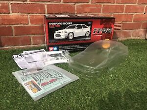 Tamiya Ford Escort Cosworth 1998 Rally Rc Car Body Shell For TT-01, TT02 & TL01