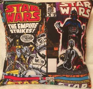 Star Wars Retro Magazine Darth Vader Empire  Handmade Cushion Cover 16 inch