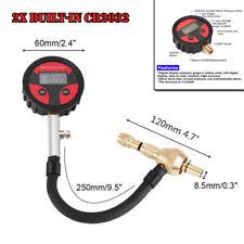 Car Tire Pressure Gauge Pickup Cycle LCD Digital Air Deflators PSI BAR KPA KGF