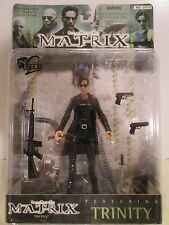 The Matrix ~ Featuring TRINITY long-sleeved ~ WB Toy ~ MOC