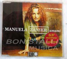 MANUELA ZANIER - AMAMI - CD Singolo  Nuovo Unplayed