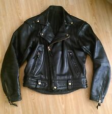 Vintage Langlitz Leathers Columbia Leather Jacket Size 38 / 40 - BLUF