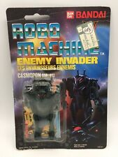 Vintage Robo Machine RM-101 Casmodon Enemy Invader Transformer Robot MOC Bandai