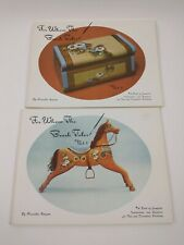 For Whom The Brush Toles Priscilla Hauser Vol 1 & 2 Painting Patterns Included