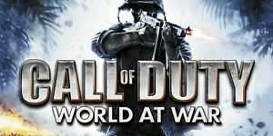 Call of Duty World at War PC Region Free Global Steam Key Fast Delivery