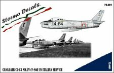 STORMO! DECALS - CANADAIR CL-13 Mk.IV/F-86E in Italian Service - 1/72 - 72001