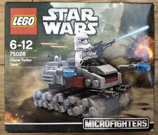 Lego 75028 Star Wars Clone Turbo Tank Microfighters New Sealed Clone Trooper