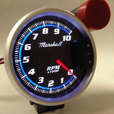 "5"" C2 Blueline Tachometer with Peak Recall, Shift Light, Cobalt Blue Accents"