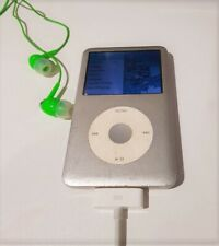Speaker Dock + Apple iPod 80GB 6th Gen Classic Silver + Charge Cable + Earphones