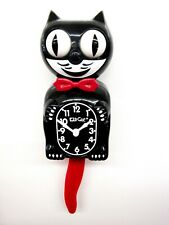 LIMITED EDITION CRIMSON ROYALE KIT CAT CLOCK  USA MADE (FREE BATTERIES).BC-1CR