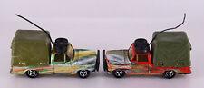 Konvolut Sammlung Majorette Geländewagen Field Car Made in France 2 STÜCK