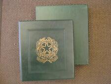 Album / Raccoglitore con Fogli per monete Repubblica Ital. Certificata 1946-1967
