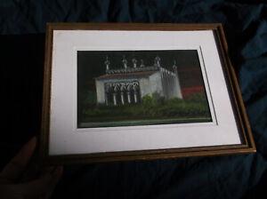 Punjab, Amritsar, Golden Temple? Pastel, Milford Zornes, India, Asia