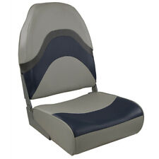 Springfield Premium Wave Folding Seat - Grey/Blue w/Meteor Stripe 1062031