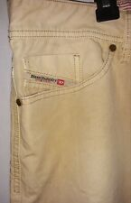 Diesel Mens Size 38 Pants Viker-A Regular Straight Wash 00DFN Light Weight Khaki