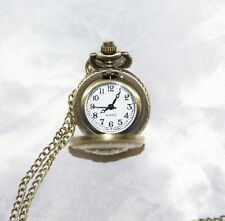 Orologio da tasca collana donna pendente con decori nautica inglese uomo stile