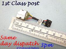 Nueva Hp Pavilion 15 Serie 15-n024ss Dc Jack Socket Puerto De Carga Conector Cable