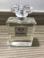 Chanel No.5 L'eau 100ml GENUINE Eau De Toilette RRP £105 NO PACKAGING
