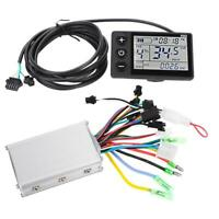 36-48V Electric Brushless Controller LCD Display Panel for Bicycle Scooter Motor
