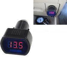Auto Spannungsmesser Spannungsanzeige Volt 12V-24V +Zigarettenanzünder-Stecker