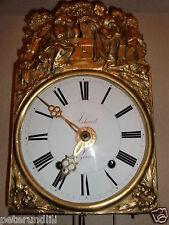 4 campanas francesa Comtoise con despertador ca a finales de siglo 19