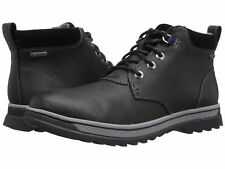 Clarks PLUS* WATERPROOF Ripway Hill GTX Black Leather Boot Men UK-13 G  EU-48 M