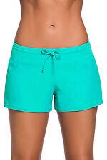 Mint Women Swim Board shorts Swimsuit Bottoms Size UK 12-14