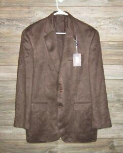 Ralph Lauren Made Expressly for Dillard's 41R Men's Microfiber Suit Coat/Jacket