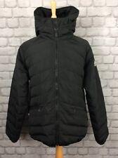 PUFFA MENS UK XL BLACK DENFORD PADDED BOMBER JACKET COAT WINTER CASUAL RRP £150
