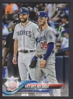 Topps Update 2018 - Base US150 Cody Bellinger / Eric Hosmer - Dodgers / Padres