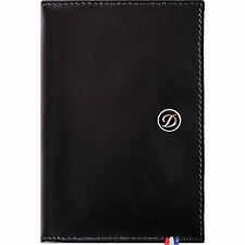 S.T. Dupont  Black Line D Elysee Leather Card Holder Wallet, 180013, New In Box