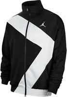 NWT Nike Jordan Wings Diamond Jacket retro Black White Mens ci7915-010 MSRP $125