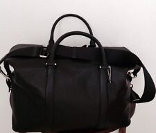 COACH Voyager Men's Leather Duffle Gym Travel Bag Black F54765 NWT