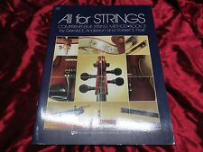 """New """"All for Strings"""", Book 2, by Anderson/Frost, Lot of 42 Method Books!"""