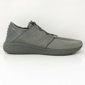 New Balance Mens Fresh Foam Cruz V2 MCRUZNG2 Gray Running Shoes Size 10.5 D