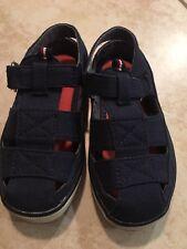 Tommy Hilfiger Navy Blue Toddler Sandals Size 8