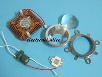 10W led bead 3000K 10000K 20000K 35000K Royal Blue & UV+Driver +fan+lens Kit DIY