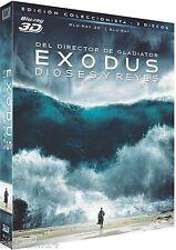 EXODUS: DIOSES Y REYES 3D [BLU RAY 2D+3D] NUEVO [ SIN ABRIR ]RIDLEY SCOTT