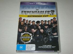 The Expendables 3 - Extended Cut - Brand New & Sealed - Region 4 - DVD