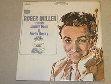 Roger Miller Meets Jimmy Dean & Ferlin Husky 1960's Sears Recs SPS-117 Sealed LP
